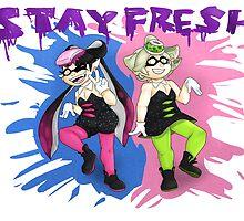 Squid Sisters by PoisonLuigi