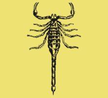 Black Scorpion Baby Tee