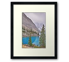 Moraine Lake, Fall-Alberta, Canada Framed Print