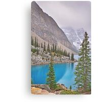 Moraine Lake, Fall-Alberta, Canada Canvas Print