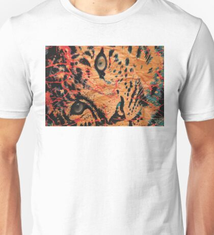 Paper Cheetah Unisex T-Shirt