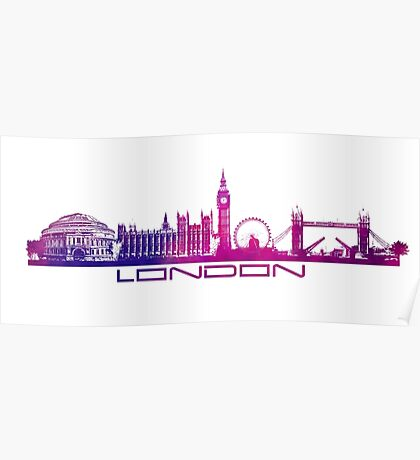 London skyline city  Poster