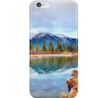 Policeman's Pond Canmore, Alberta, Canada iPhone Case/Skin