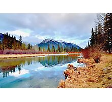 Policeman's Pond Canmore, Alberta, Canada Photographic Print