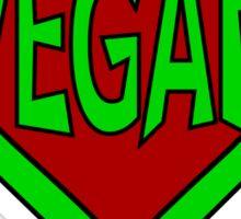 Hero, Heroine, Superhero, Super Vegan Sticker