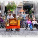 Street Musician - Antwerp by Gilberte