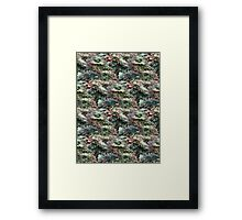 Spotted Rotted in Decayed Glade Framed Print