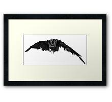 Camera Crow Framed Print
