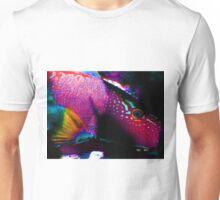 blue eyed pink fish Unisex T-Shirt