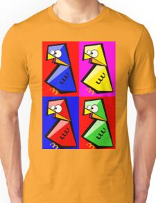 Birds Warhol like Unisex T-Shirt