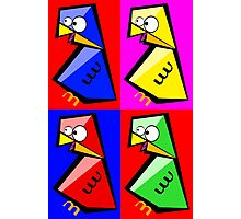 Birds Warhol like Photographic Print
