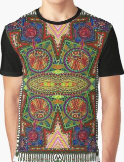 Psychedelic Abstract colourful work 227Big Crest Graphic T-Shirt