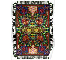 Psychedelic Abstract colourful work 227Big(part) Poster