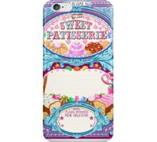 Candy-Shop-Invitation-Vintage iPhone Case/Skin