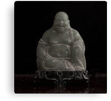 Dusty Jade Buddha  Canvas Print