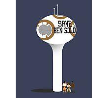 Let's Save Ben Solo  Photographic Print