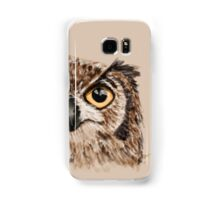 Disapproving Owl Disapproves Samsung Galaxy Case/Skin