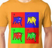 bull warhol like Unisex T-Shirt