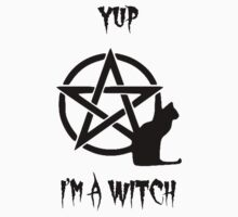 I'm a WITCH Kids Tee