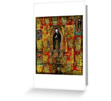 Virgin of Guadalupe - Day of the Dead ART Greeting Card