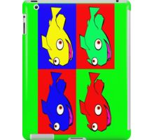 Fish warhol like iPad Case/Skin
