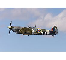 BBMF Spitfire Photographic Print