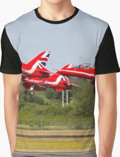 Red Arrows Take Off Graphic T-Shirt