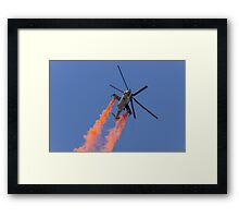 Smoking Hind Framed Print