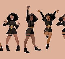 Black, Proud, & Carefree by raveyrai