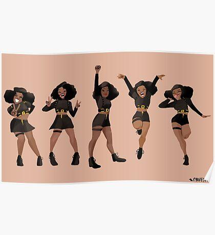 Black, Proud, & Carefree Poster
