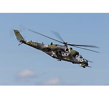 Mi-24 Hind Photographic Print