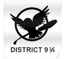 district 9 ¾ Poster