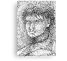 Portrait Study. Canvas Print