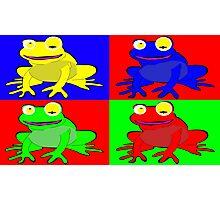 Frog warhol like Photographic Print