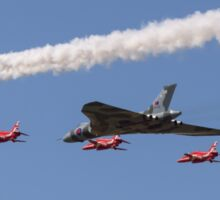 Vulcan and Red Arrows Sticker