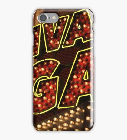 Viva Las Vegas iPhone Case/Skin