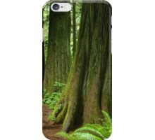 Meeting with a forest giant iPhone Case/Skin