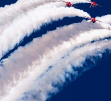 Red Arrows and Smoke Sticker