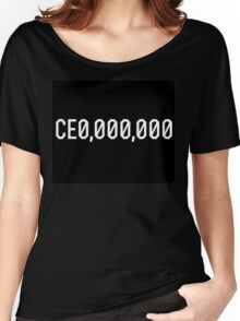 CE0 000,000 CEO CE0,000,000 Women's Relaxed Fit T-Shirt