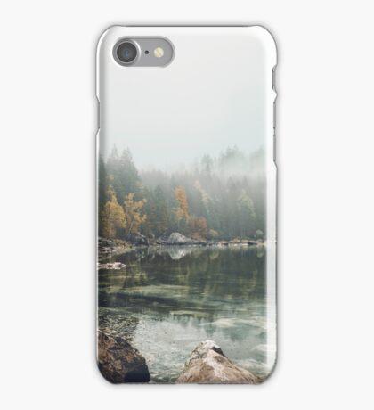 Lake serenity landscape photography iPhone Case/Skin