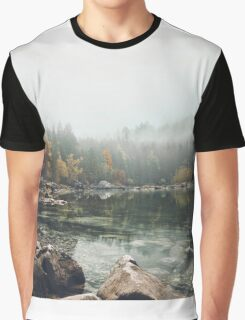 Lake serenity landscape photography Graphic T-Shirt
