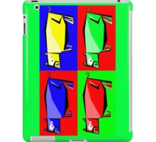 Pig Warhol like iPad Case/Skin