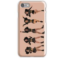 Black, Proud, & Carefree iPhone Case/Skin
