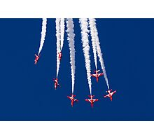 Red Arrows Dive Break Photographic Print