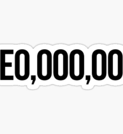 CEO CE0,000,000 Sticker