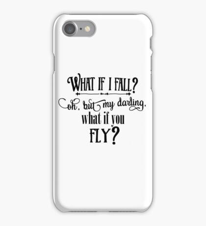 What If I Fall iPhone Case/Skin