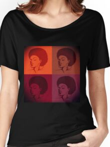 Black Female Pride  Women's Relaxed Fit T-Shirt