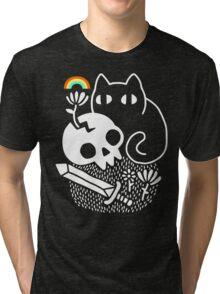 Cat & Stuff Tri-blend T-Shirt