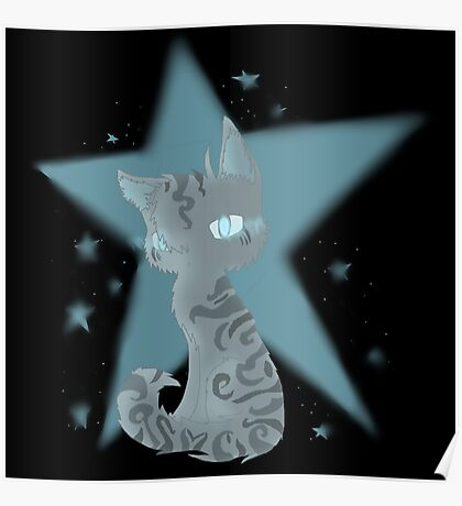 Warrior Cats Omen of The Stars Jayfeather Poster