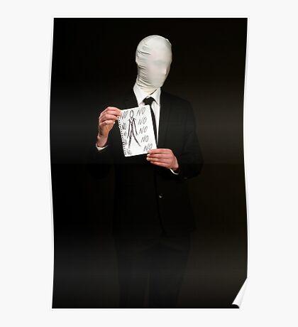 Slender Man Cosplay  Poster